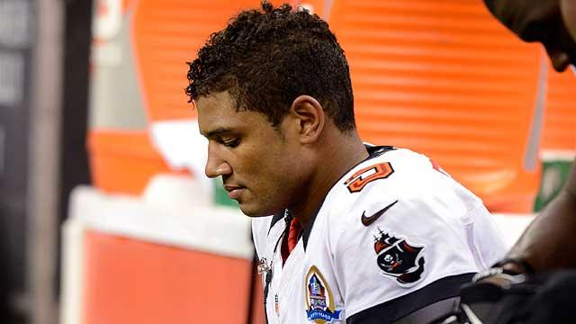 Josh Freeman hits bottom