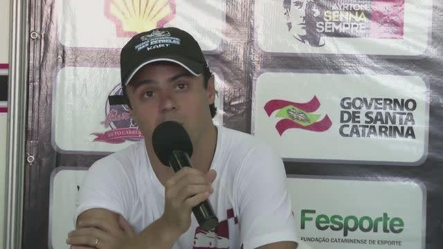 Felipe Massa 'praying' for Schumacher recovery