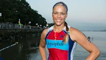 Jennie Finch goes from softball to triathlon