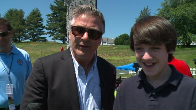 Alec Baldwin Talks About Golf Conditions At The Traveler`s Championship