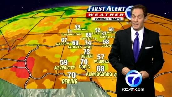 Eric's Weather Forecast July 2, 2012