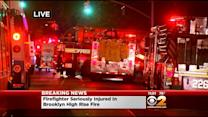FDNY Firefighter Injured While Battling Brooklyn Fire
