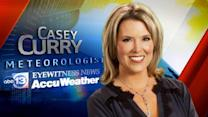 Casey Currry's Wednesday weather forecast