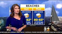 Morning Weather On 8/31: Heating Up, Scattered Storms