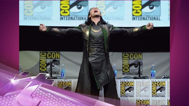 Entertainment News Pop: Loki At Comic-Con: Tom Hiddleston Rules In Hall H