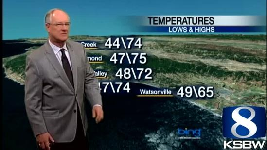 Watch Your KSBW Weather Forecast 04.25.13