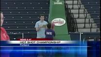 Kids take part in Hot Shot Championship