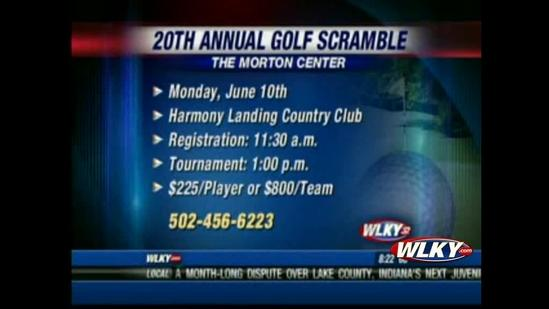 Morton Center hosts annual golf scramble
