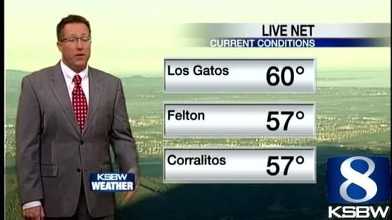 Get Your Thursday KSBW Weather Forecast 6.27.13