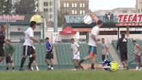 Fresno Fuego holds tryouts for college kids