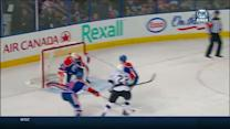 Trevor Lewis redirects one past Scrivens