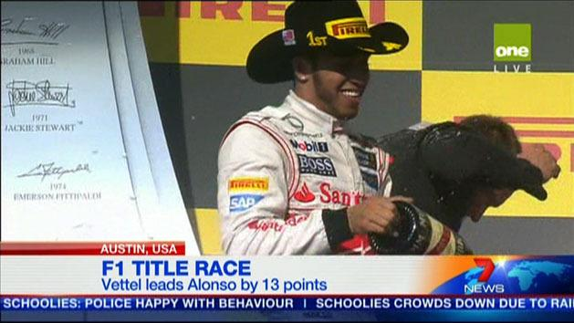 Vettel leads Alonso by 13 points