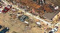 Aerial Video Shows the Extent of the Destruction