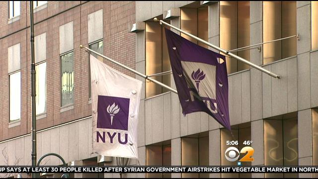 NYU Investigating Pro-Palestine 'Eviction' Fliers Distributed To Students