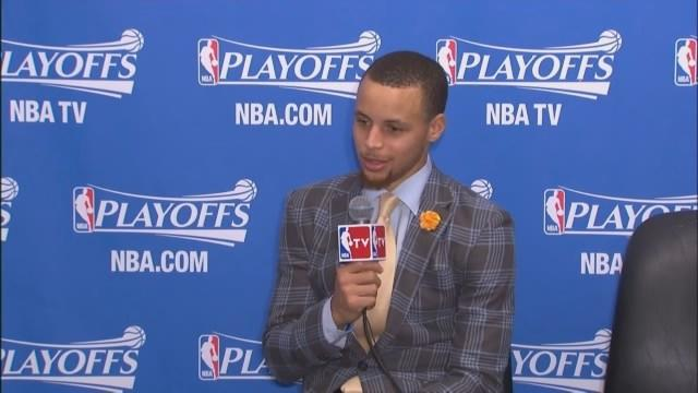Raw Video: Jackson, Curry On Future Of Warriors' Coach