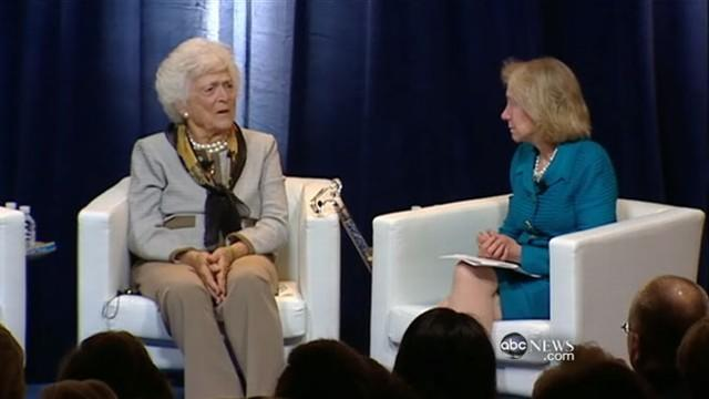 Super Tuesday: Barbara Bush Criticizes Campaign
