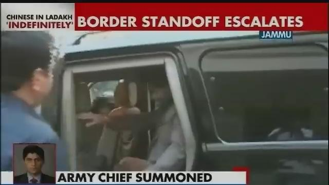 Army chief summoned for briefing on govt's stand on PLA incursions