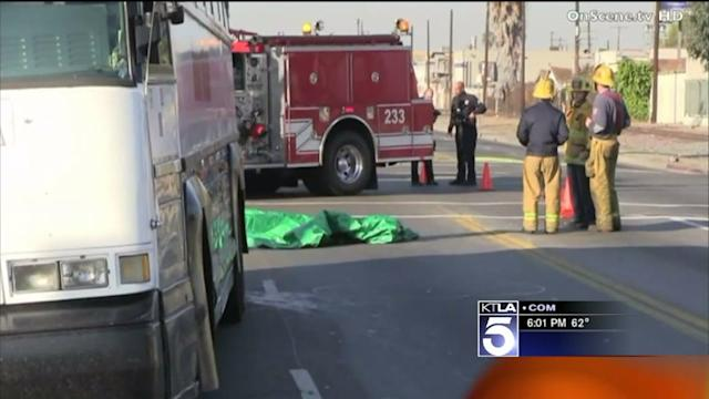 Woman Struck, Killed by Tour Bus in South L.A.