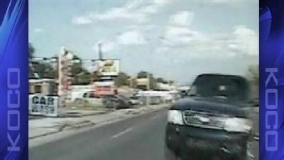 Horrific Crash Involving Deputy Caught On Tape