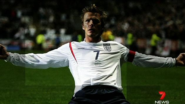 Beckham to retire from football