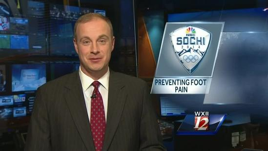 Preventing foot pain; Kenny Beck reports