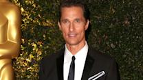 Matthew McConaughey Discusses Oscar Buzz And 'The Wolf Of Wall Street'