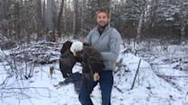 Watch Two Brothers Rescue a Bald Eagle and Take an Amazing Selfie