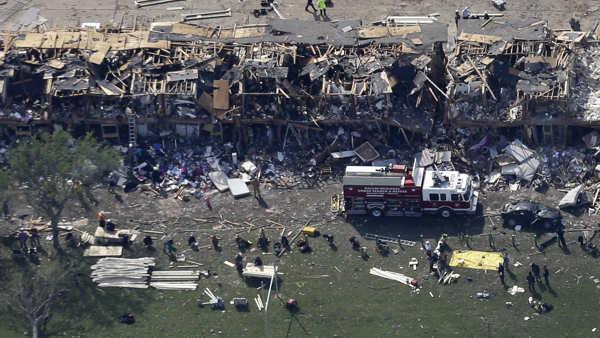 2 more bodies recovered in Texas explosion, death toll at 14