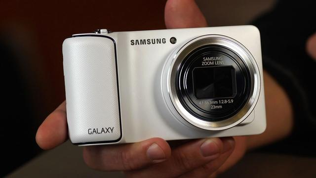Samsung's Android-powered Galaxy Camera