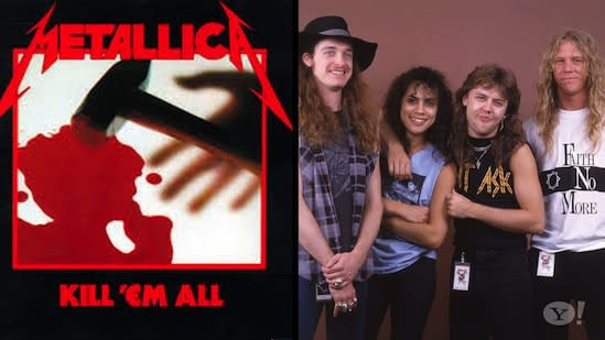 Metallica Reflects On 30th Anniversary Of First Album