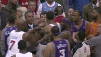 Suns vs Clippers Scuffle