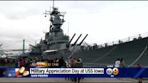Memorial Day Brings Thousands To USS Iowa