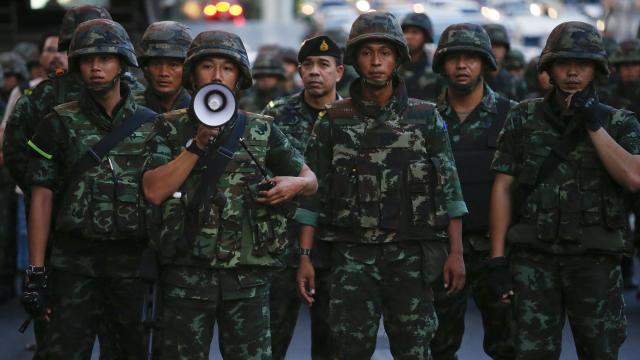 Thai Army Declares Coup: Military Seizes Control of Country