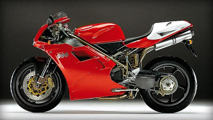 DUCATI 996。