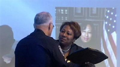 Retirement Party Held For Police Chief