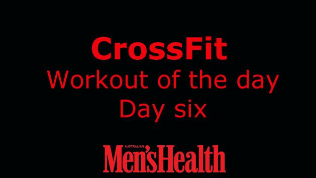 CrossFit Workout - Day 6