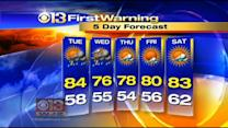 Marty Bass Has Your Monday Morning Forecast