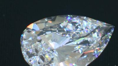 Sotheby's Auctions Rare White Diamond