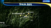 State police search for Jeep thief