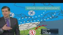 East Coast may ring in the new year with major snow storm