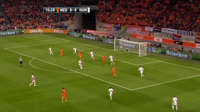 Netherlands demolish Hungary 8-1
