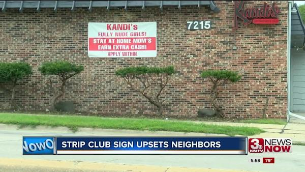 Strip Club Under Fire For Distasteful Sign Stay At Home