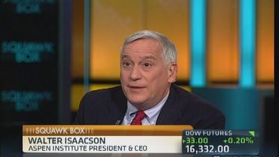 Washington is getting its act together: Isaacson
