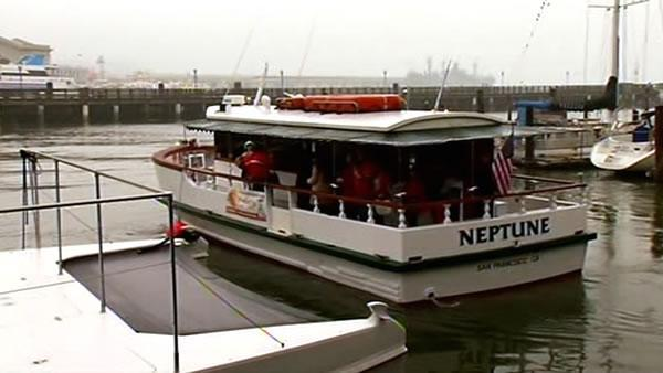 Boat grounded by Oct. accident celebrates relaunch