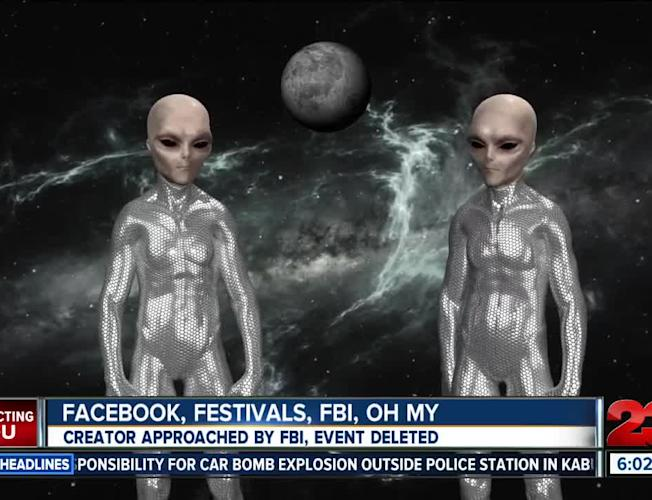 Area 51 Festival Update, creator approached by FBI