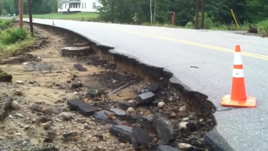 Storms create big mess in Rumford