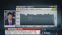 Mulally: I won't leave for Microsoft