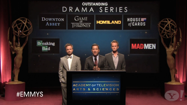 Outstanding Drama Series: 2013 Emmy Nominations