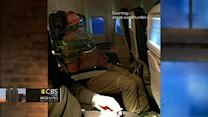 Drunk airplane passenger subdued