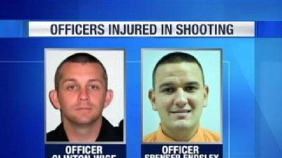 Suspect In Shooting Of 2 Police Officers Identified